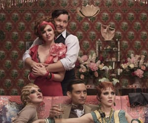 the great gatsby, joel edgerton, and isla fisher image