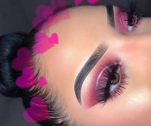 eyes, glitter, and shiny image