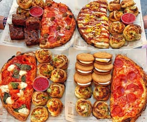 food, nourriture, and pizza image
