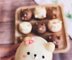 bears, cakes, and white chocolate image