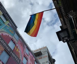 bisexual, pride, and flag image