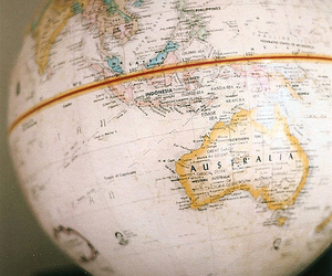 australia, vintage, and world image