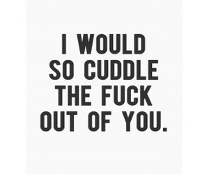 cuddle, funny, and text image