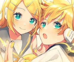anime, anime girl, and kagamine len image