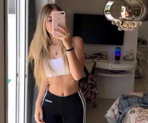 girls, meninas, and selfie image