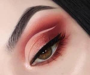 glam, makeup, and eyebrows image