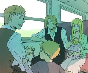 fullmetal alchemist, winry rockbell, and edward elric image