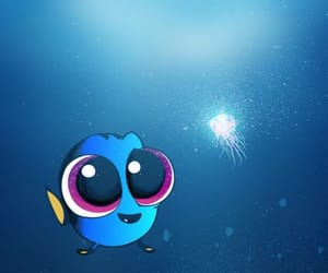 background, dory, and finding dory image
