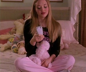 pink, mean girls, and aesthetic image