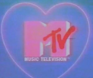 mtv, aesthetic, and pink image