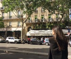 cafe de flore, fashion, and people image