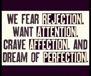 quote, affection, and perfection image