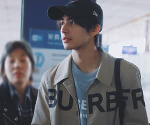 airport, hat, and asian boys image