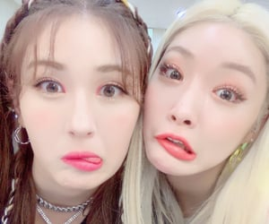 kpop, somi, and chungha image