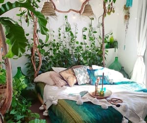 home, decor, and green image