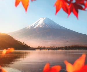 nature, japan, and lake image