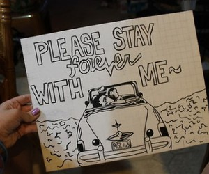 sleeping with sirens, drawing, and stay image