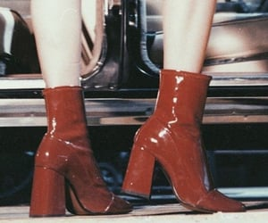 aesthetic, red, and heels image