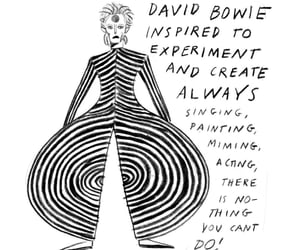 aesthetic, david bowie, and quote image