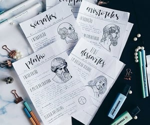 aesthetic, neat notes, and calligraphy image