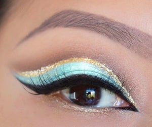 colors, makeup, and eyebrows image