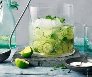 food, drink, and lemon image