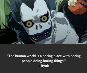 anime, death note, and quote image