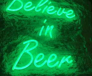 beer, green, and aesthetic image