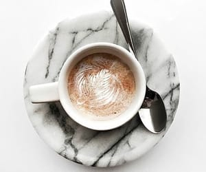 coffee, drink, and marble image