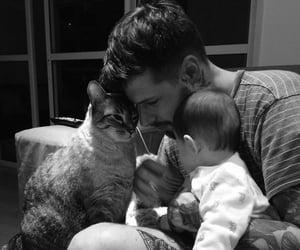 baby, boy, and animal image