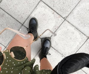 dr martens, girl, and hipster image