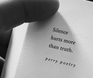 quotes, poetry, and silence image