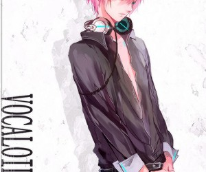 anime, headphones, and vocaloid image