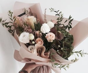 bouquet, nature, and pink image