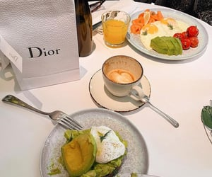 cafe, coffee, and dior image
