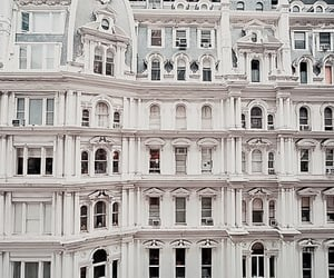 building, white, and city image