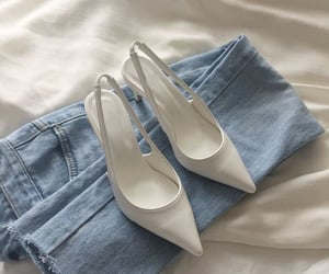 shoes, fashion, and jeans image