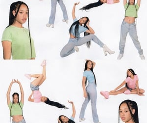 2000s, pastel, and model image