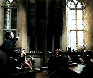 gif, hogwarts, and professor image