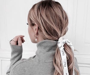 dior, fashion, and hairstyles image