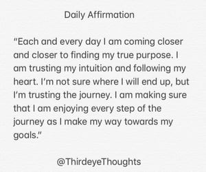 inspiration, words, and affirmations image