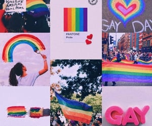 aesthetic, colors, and gay image