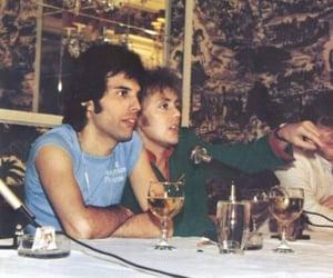 70s, drummer, and Freddie Mercury image
