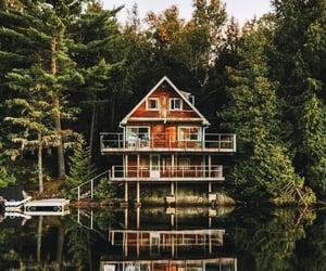 adventure, boat, and cabin image