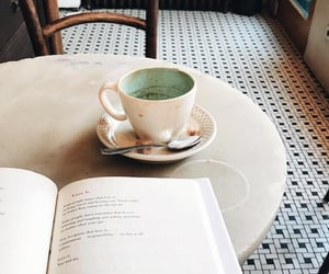 coffee, books, and photography image