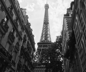 aesthetic, black and white, and building image