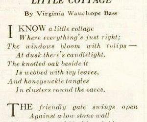 poem and cottage image
