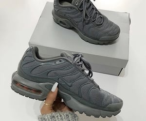 sneakers, fashion, and grey image