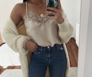 outfit, beautiful, and girl image