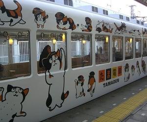 theme, japan, and train image